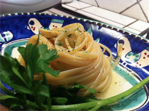 colatura di alici di cetara far riposare la pasta