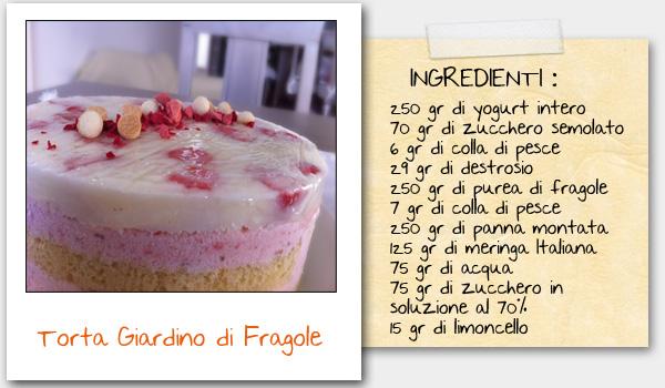 Torta Giardino Di Fragole Di Luca Montersino By Aniria